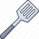 tools, equipment, spatula