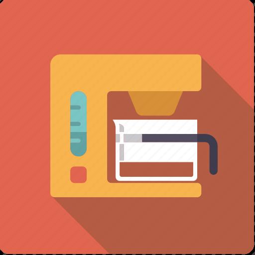 Appliance, coffee, device, household, kitchen, machine icon - Download on Iconfinder