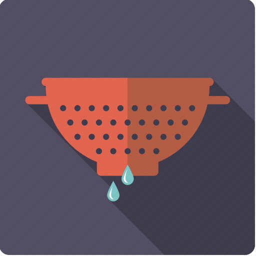 colander, cooking, household, kitchen, sieve, tool, utensil icon