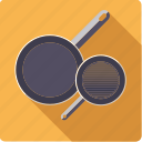 pans, utensil, household, cooking, pots, frying, kitchen icon