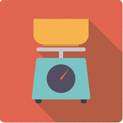 cooking, device, household, kitchen, scales, utensil, weight icon