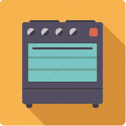 appliance, cooking, device, household, kitchen, oven, stove icon