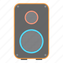 loud, multimedia, music, party, sound, speaker, woofer icon