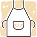 apron, cooking, food, kitchen, meal, restaurant icon