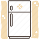 appliance, food, kitchen, refrigerator, utensil icon