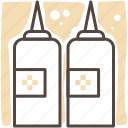 cook, food, kitchen, meal, restaurant, sauce icon