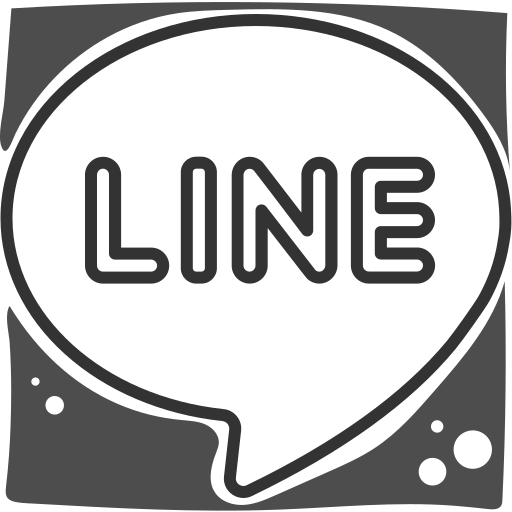 Line, logo, social networks icon - Free download