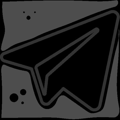 logo, social networks, telegram icon