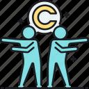 choreography, choreography copyright, copyright, dance, dance copyright icon