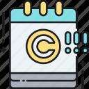 copyright, copyright expiry date, expiry icon