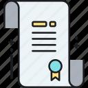 filing, initial, initial filing icon