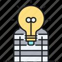 copycat, idea, plagiarism, thief, thief of idea icon