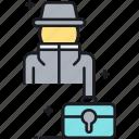 insider, secrets, spy, trade, trade secrets icon