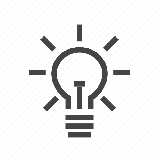 copywriting, creative, creativity, design, idea, light, lightbulb icon