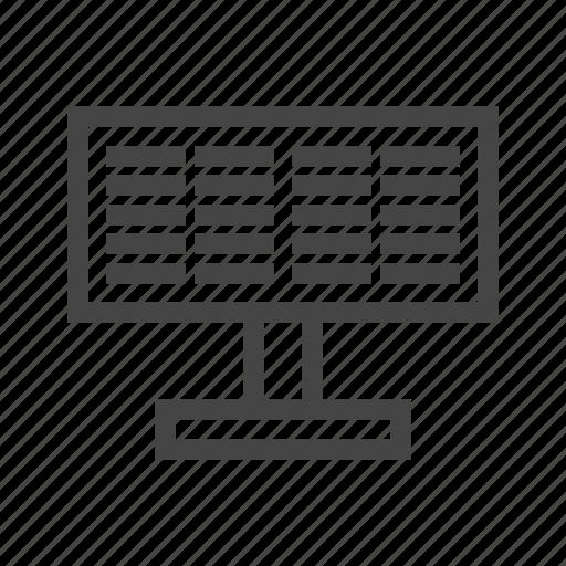 computer, copywriting, monitor, pencil, screen, write, writing icon