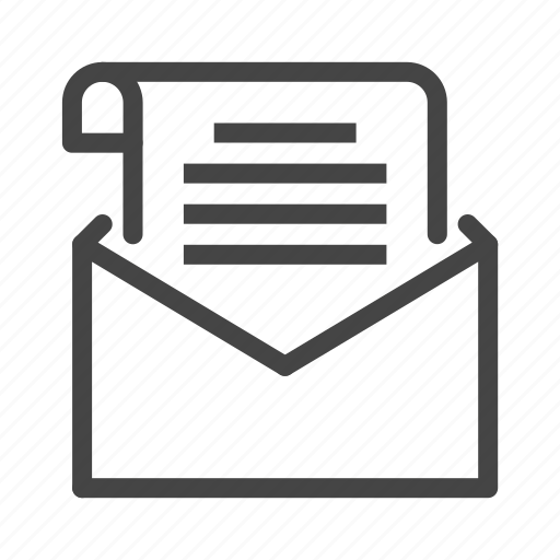 copywriting, email, envelope, letter, mail, message, writing icon