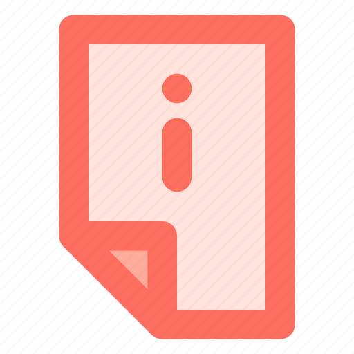 Data, document, file, info, information icon - Download on Iconfinder