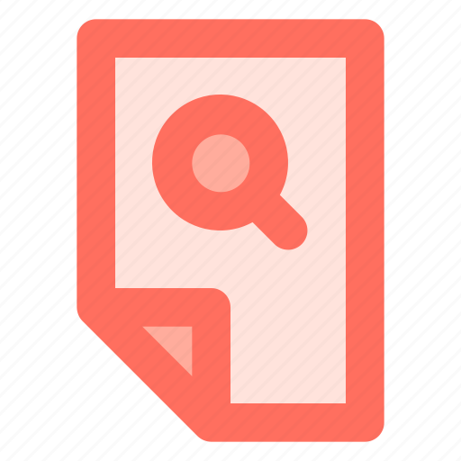 Data, document, file, find, search icon - Download on Iconfinder