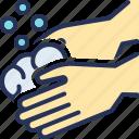 color, corona, fingers, hand, virus