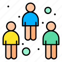 coronavirus, covid19, people, spreading, user icon