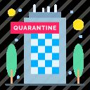 building, coronavirus, quarantine, staying