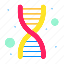 dna, genetics, genomic, strand, virus icon