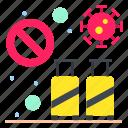 banned, infection, tourist, transmission, travel, virus