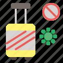 corona, covid, no, pandemic, travelling, virus