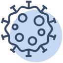 corona, coronavirus, covid19, genome, infection, spread, virus icon