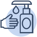 clean, corona, coronavirus, hand, hygiene, virus, wash icon