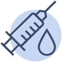 corona, coronavirus, health, injection, medical, syringe, virus icon