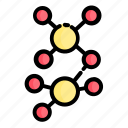 covid, electron, corona virus, virus icon