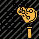 coronavirus research, research, science icon