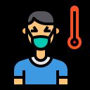 cold, coronavirus, fever, sick, temperature