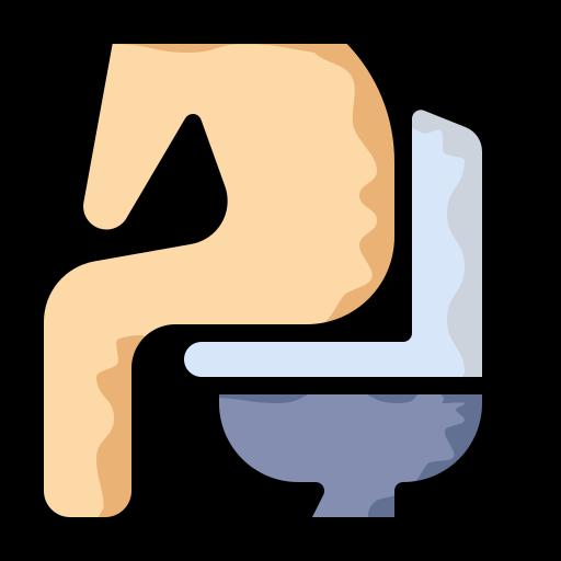diarrhea, disease, stomach, toilet icon