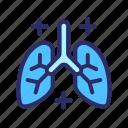 coronavirus, health, healthcare, lung, medical icon