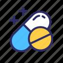 capsule, corona, covid19, medicine, pill icon