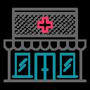 coronavirus, covid19, drugstore, health, healthcare, pharmacy, virus icon