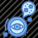 corona, covid, eye, organ, sickness, virus