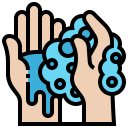 clean, cleaning, coronavirus, covid-19, hand, hygiene, washing icon