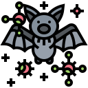 animal, bacteria, bat, coronavirus, covid-19, virus