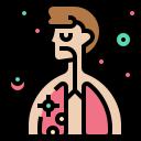 coronavirus, covid-19, illness, lung, pneumonia, respiratory icon
