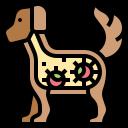 animal, bacteria, dog, virus icon
