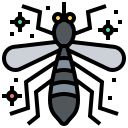 animal, bacteria, mosquito, virus icon