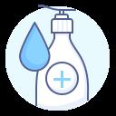 antiseptic, clean, disinfect, saniter icon