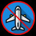 airplane, ban0, coronavirus, covid19, prohibit, travel