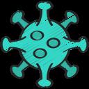 bacteria, coronavirus, disease, illness, infection, virus icon