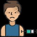 avatar, coronavirus, injection, person, vaccination, vaccine icon