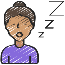 coronavirus, sleepy, tiredness, tired, zzz icon