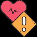 cardiogram, coronavirus, health, heart, important, warning icon